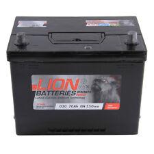 030 030 Car Battery 3 Years Warranty 70Ah 600cca 12V L266 x W172 x H222mm Lion