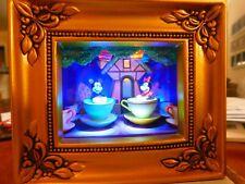 "Disney & Robert Olszewski Gallery of Light - ""Mickey & Minnie on Mad Tea Party"""