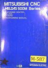 Mitsubishi Meldas 500M Series, Machining Center Programming Manual