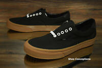 Vans Era 59 (Canvas Gum) Black Gum VN0A38FSL0D Skate Shoes Men's Multi Size