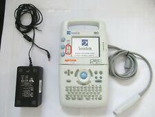 Sonosite 180 Plus Portable Ultrasound Cardio Imaging Doppler Image Scanner Probe
