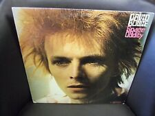 David Bowie Space Oddity vinyl LP 1972 RCA [Orange Label] Records EX w/ Poster