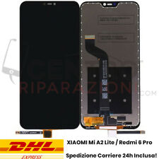 DISPLAY LCD TOUCH SCREEN PER XIAOMI Mi A2 LITE REDMI 6 PRO VETRO SCHERMO NERO