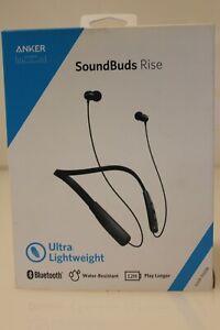 Anker A3271 Soundbuds Rise Wireless Neckband Earbuds Black