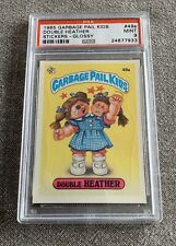 "1985 Garbage Pail Kids ""Original Series 2"" Double Heather #49a Glossy PSA9"