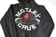Motley Crue Route of all Evil 2006 Concert Tour Hoodie Sweatshirt Black Adult M