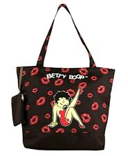 Betty Boop Red Lips Tote Style Purse