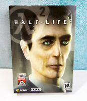 Half-Life 2 Box Version Complete PC Computer Game G-Man Cover Variant Rare 2004