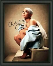 ARIANA GRANDE - A4 SIGNED PHOTO - HIGH GLOSS PHOTO POSTER PRINT - FREE POSTAGE