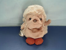 Rare Vintage 1979 Gund plush stuffed animal Matthew brown mole with bell