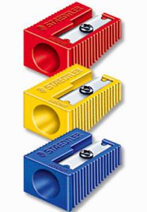 Staedtler Single Hole Plastic Pencil Sharpener BLUE