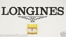 VINTAGE LONGINES DORNSCHLIESSE - VERGOLDET - 10mm - BUCKLE