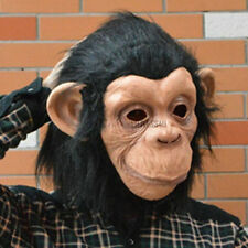 Affe King Maske Affe Gorilla Schimpanse Animal Primat Rollenspiel Kostüm Kostüm