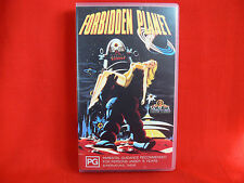 FORBIDDEN PLANET VHS Video Tape Cult B Grade Sci Fi Movie from 1956 - COLLECTORS