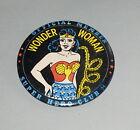 "ORIGINAL 1966 WONDER WOMAN OFFICIAL MEMBER SUPER HERO CLUB 3 1/2"" PIN BUTTON"