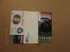 NPSL Buffalo Blizzard Vintage Defunct 1999/2000 Season Ticket Brochure