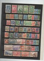 60 timbres Algérie avant indépendance