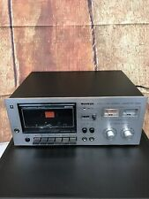 Vtg Sankyo Std 1700 Single Stereo Deck Cassette Player Recorder Made In Japan