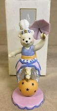 "1993 Avon Magnificent Circus Bears Collection ""Bettina, The Ballerina"""