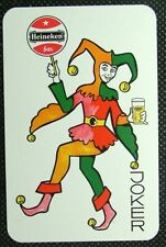 1 x Joker playing card single swap Heineken Bier ZJ857