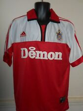 Rare Fulham Player Issue Away Jersey Shirt (2000/2001) Size F #844