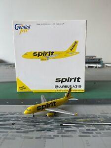 RARE Spirit Airlines A319 GEMINI JETS 1:400