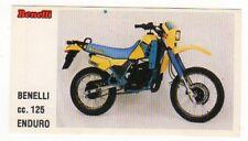 figurina MOTOR SHOW BAGGIOLI 1986 NEW numero 34 BENELLI ENDURO