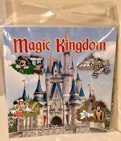 Disney World Magic Kingdom 4-Pin Set JungleCruise Space & Splash Mtn Small World