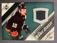 2005-06 Upper Deck UD Game Jersey #J2-MW Brenden Morrow Dallas Stars Patch