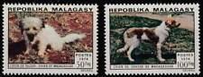 Madagascar postfris 1974 MNH 726-727 - Honden / Dogs (h145)