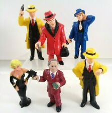 Dick Tracy Applause Figures Set of 6 Pvc Cake Toppers 1990 Prune Face Mahoney