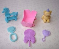 Barbie Happy Family & Baby Doll Accessories - Mixed Toy Bundle