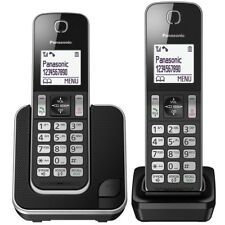 Panasonic KX-TGD312EB Cordless Double Home Phone Nuisance Call Blocker LCD NEW
