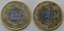 Komoren / Comoros 250 Francs 2013 p21 unz.