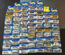 Hot Wheels 1998-2002 Random No Doubles Lot Of 65 Cars -- 027