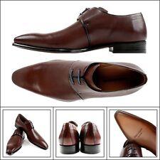 Mens GRUPPO ARTIGIANI by Mezlan Tan Leather Oxford Dress Shoes 10.5 M NIB $375!