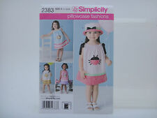 Simplicity 2383, Pillowcase Fashion by Precious Patterns, Dress Sizes 1/2-4