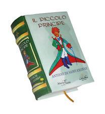 Il Piccolo Principe miniature book in Italian easy to read color pages illustra