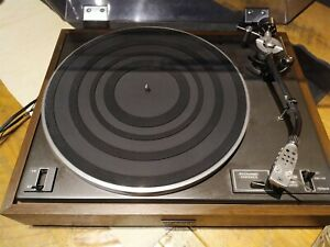 Vintage Pioneer PL-12D Turntable with Cover ~ nice condition