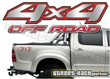 4x4 OFF ROAD 003 sticker PAIR Printed vinyl decal graphic Fits Nissan Navara