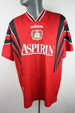 Bayer 04 Leverkusen 1996 1997 Home Adidas Football Shirt Trikot Mens Large F620