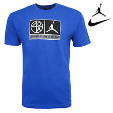 Nike Air Cotton Men's T Shirt The Father The Son & The Holy Game Graphic Print