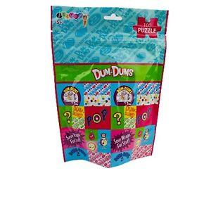 Dum-dums 100 Piece Jigsaw Puzzle In A Bag Brand 2013 Spangler Candy Company