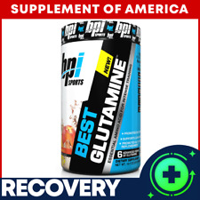 """Bpi BEST GLUTAMINE Excellent RECOVERY FOR INTENSE Workout """"FREE SHIPPING"""""""