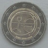 2 Euro Deutschland D 2009 10 Jahre WWU unz