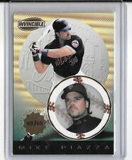 MIKE PIAZZA 1999 PACIFIC INVINCIBLE PREMIER DATE #68/69 =METS