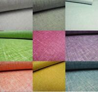 Arthouse Linen/Kashmir Texture Woven Effect 10m Wallpaper Asst Colours