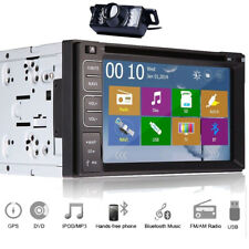 "6.2"" HD Touchscreen Stéréo DVD Double Din Autoradio GPS Navi Bluetooth Swc Cam"