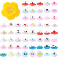Bowknot Silicone Cup Cover Heat-resistant Leak Proof Coffee Tea Mug Seal Cup Lid