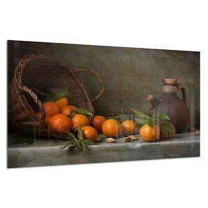Tempered ESG Glass Photo Print Wall Art Picture Life Orange Still Prizma GWA0322